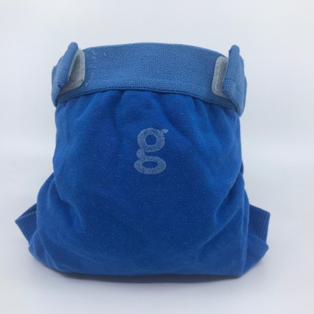 gDiapers Small m/pouch Globetrotter Blue