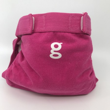 gDiapers Small m/pouch Goddess Pink