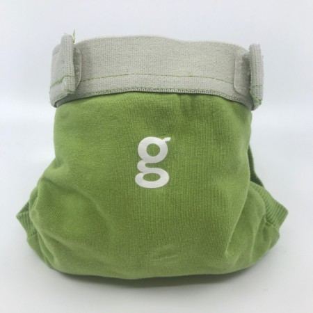 gDiapers Small m/pouch Guppy Green